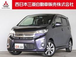 三菱 eKカスタム 660 T 距離無制限保証1年付 メモリーナビ付