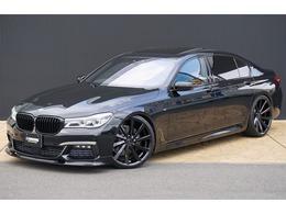BMW 7シリーズ 740Li Mスポーツ リアモニタ- 3Dデザインエアロ KOKO22AW