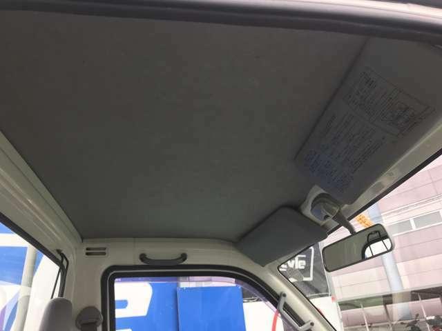 天井もご覧のとおり目立つような汚れはございません!