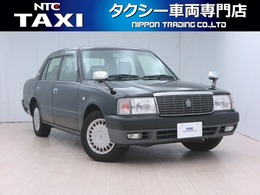 トヨタ クラウンコンフォート 2.0 デラックス Aパッケージ LPG タクシー 手動式ドア