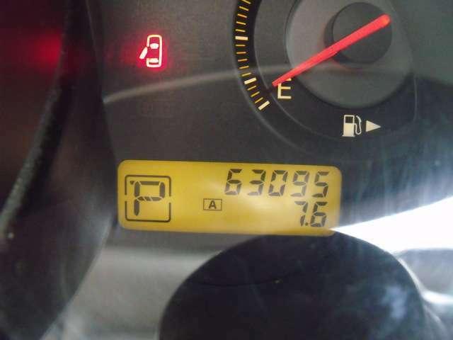 走行6万km台でまだまだ元気に走ります!