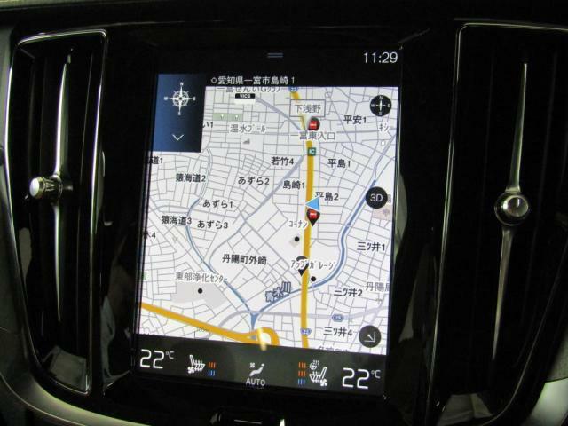 HDDナビゲーションシステム搭載、最新の地図ソフトに更新してご納車いたします。