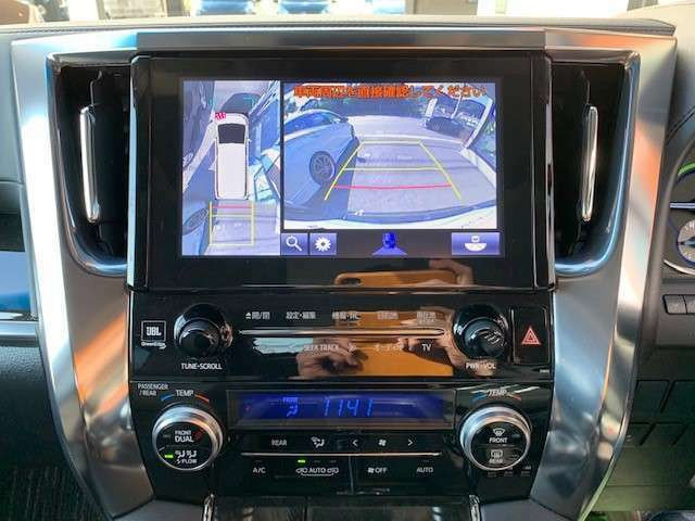 パノラミックビューモニター&クリアランスソナー装着車です。