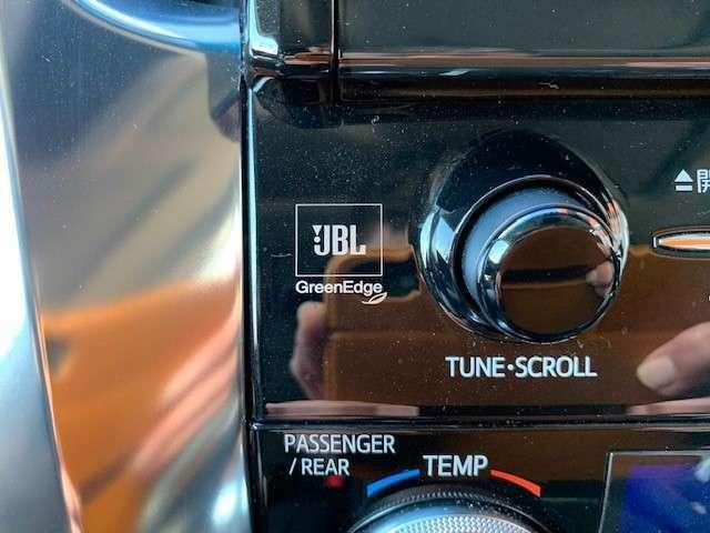 JBLプレミアムサウンドシステム17スピーカーで上質な音質を楽しめます。同グレード同オプション新車購入参考価格7,300,000円