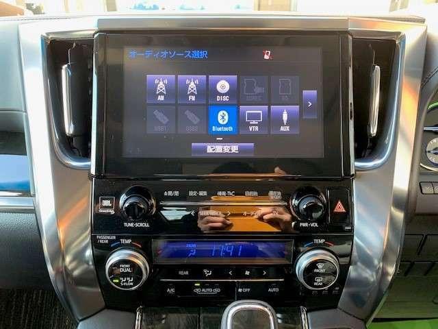 録音機能やBluetoothも付いていますので車内にCDを置かなくていいので車内がすっきりします。