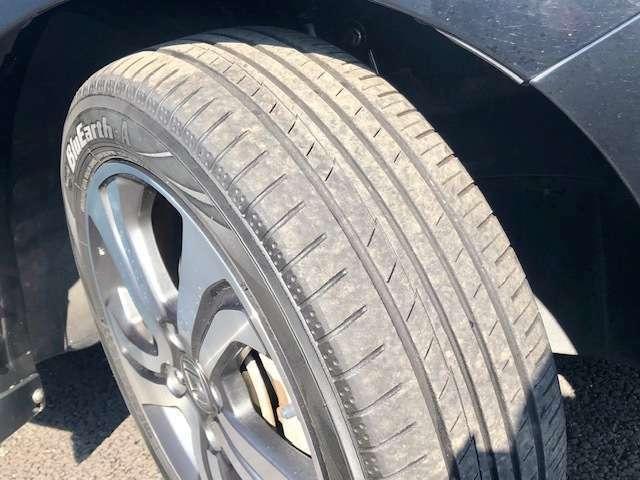 タイヤの状態も良好です!