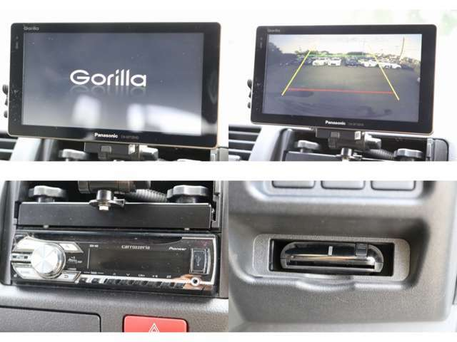 パナソニックナビ ワンセグTV CD USB接続 ETC Bカメラ