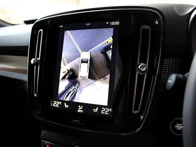 360度カメラ バックカメラ切替可能です