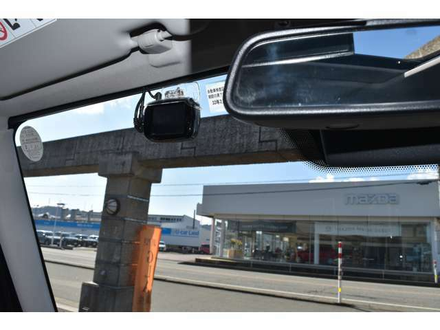 ●現在需要が高まっているドライブレコーダー装着です!万が一の場合も、録画されていると安心です。