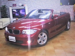 BMW 1シリーズカブリオレ 120i ハイラインパッケージ 後期最終直噴ベージュ幌&本革ナビTVBカメ