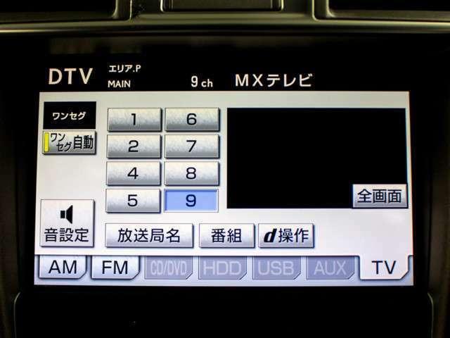 地デジ・DVD再生・Bluretooth
