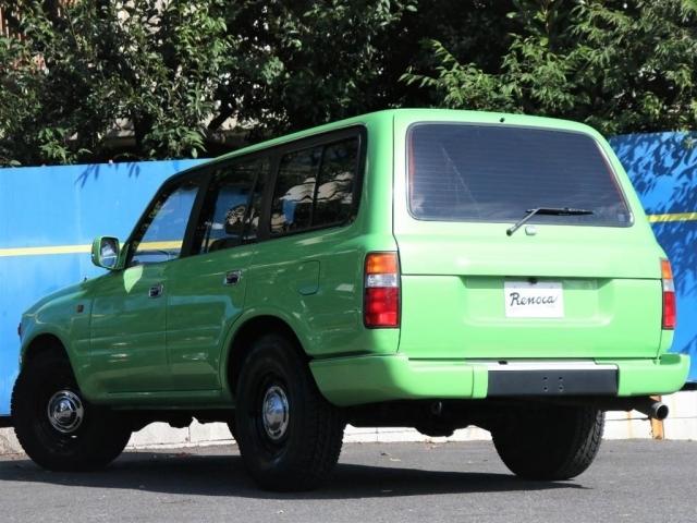 遠くからでも、ご自分の車両と分かるライムグリーンカラー!