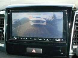 バックカメラ付きで駐車場の車庫入れも安心です。
