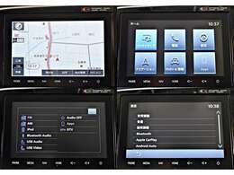 【プラスPKG装着】8型スマートフォン連携ナビゲーション+フルセグTV※Bluetoothオーディオ&ハンズフリー対応・USBポート付き