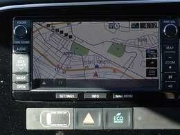 三菱純正SDナビ(MMCS) フルセグTV Bluetooth接続 CD/DVD再生 SDミュージックサーバー