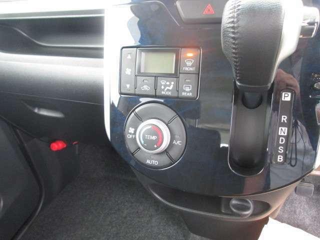 オートエアコンで操作ラクラク!いつでも快適にドライブをお楽しみいただけます♪
