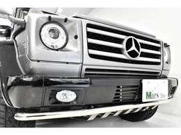 designoレザーを使用するなど特別仕様車らしい佇まいとなっております。中でも「G55 AMG」モデルと同じボディスタイリング(オーバーフェンダー、エグゾーストシステム)や