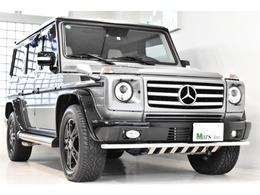 メルセデス・ベンツ Gクラス G550 ロング エディションセレクト 4WD 正規D車 白&黒革 専用内外装 全席シートH