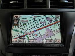 8型ワイドVGA LED液晶SDナビゲーション搭載!不慣れな土地も道もこれで安心ですね。