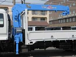 タダノ4段クレーン・ラジコン・フックイン付