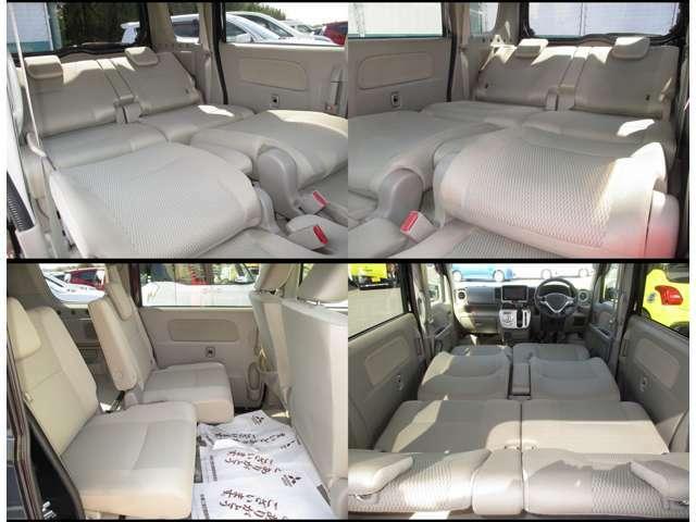 車内泊仕様にも可能なレイアウトです!