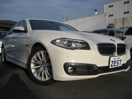 BMW 5シリーズ 523d ラグジュアリー ディーゼルターボ 本革シート/ナビ/フルセグTV/ETC/スペアキ-