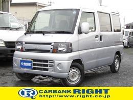 三菱 ミニキャブバン 660 CD 4WD Tベルト交換済 パートタイム4WD