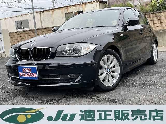 【お車のご紹介】H.23(2011)年 BMW 116i プッシュスタート キセノンヘッドライト ブラック 走行61,704km