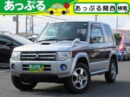 三菱 パジェロミニ 660 ナビエディション VR 4WD ナビ ETC バックカメラ キーレス