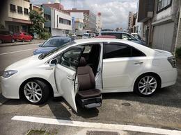 トヨタ SAI 2.4 S ウェルキャブ 助手席リフトアップシート車 Aタイプ ドラレコ 地デジ バックカメラ ETC