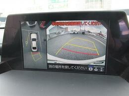 パノラミックビューモニター・バックカメラが装備されていますのでバック駐車の後方確認も楽に出来ます。