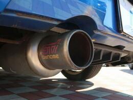 【STIGENOMEマフラー】スバル純正パーツです!!!純正マフラーより水平対向エンジンのサウンドを感じれます♪
