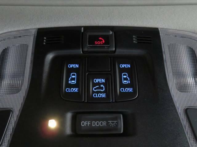ミニバン定番の両側電動スライドドア装備。ワンタッチで開閉ができます。