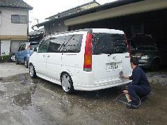 車検・メンテナンスのお客様への洗車サービス!