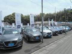 長崎マツダで多くの在庫台数を抱えています!マツダの第6世代中古車はもちろんのこと他メーカー車も多数取り扱っております!