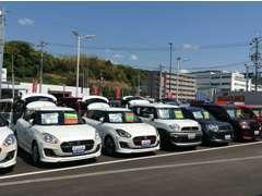 コンパクトカーから軽自動車まで、お買い得中古車を多数揃えてお待ちしております!