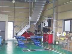 自社整備工場完備しております!アフターについてもご安心下さい。