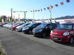 各メーカーの新車を取り揃えています!!