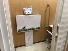 清潔でキレイなお手洗い多機能トイレも完備