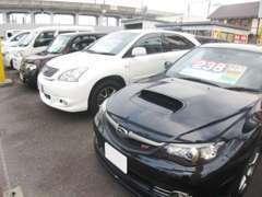 新車・中古車の注文販売も承っております。スタッフが全力で貴方のご希望のお車を全力でお探し致します。