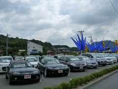 スポーティーな車からワンボックス・軽自動車まで幅広くラインナップしております。