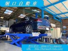 丁寧な整備には定評があり、自信を持ってお客様のお車の整備を行います。専門知識豊富なスタッフが親切・的確にご対応致します。