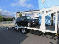 陸送は別途料金になります。普通車は陸運局で納車が一番お得ですが、軽自動車なら同じ料金でご自宅へ運びます。