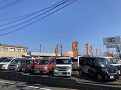 軽自動車も多数、取りそろえております♪また当店は東京海上日動指定工場店!もしもの時も安心アフターフォロー!