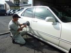 格安車でもピカピカに仕上げて納車致します。