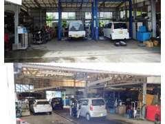 運輸局長認証工場で車輌積載車もございます!!