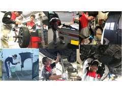 納車後も自社工場で点検や整備、車検アフターサービスしておりますので安心でカーライフを楽しんでいただけます。