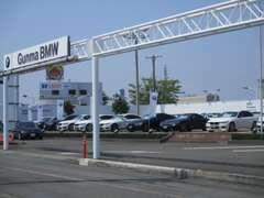 関東最大級のBMW認定中古車展示場!! 国道17号線沿いです!