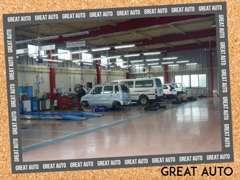 提携の民間車検場で車検や整備に対応いたします。修理などのアフターサービスもお申し付けください。