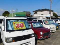 軽自動車~普通車まで幅広く展示しております!平川動物園近くにございます!お気軽にご来店ください☆